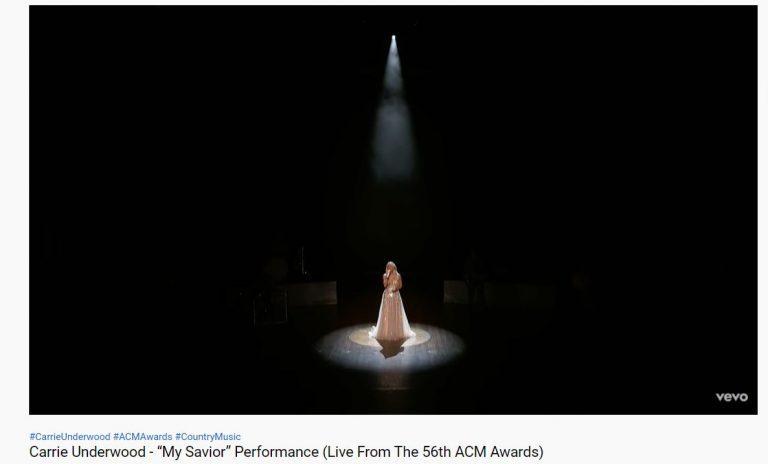 Carrie Underwood's ACM Awards Performance was Amazing