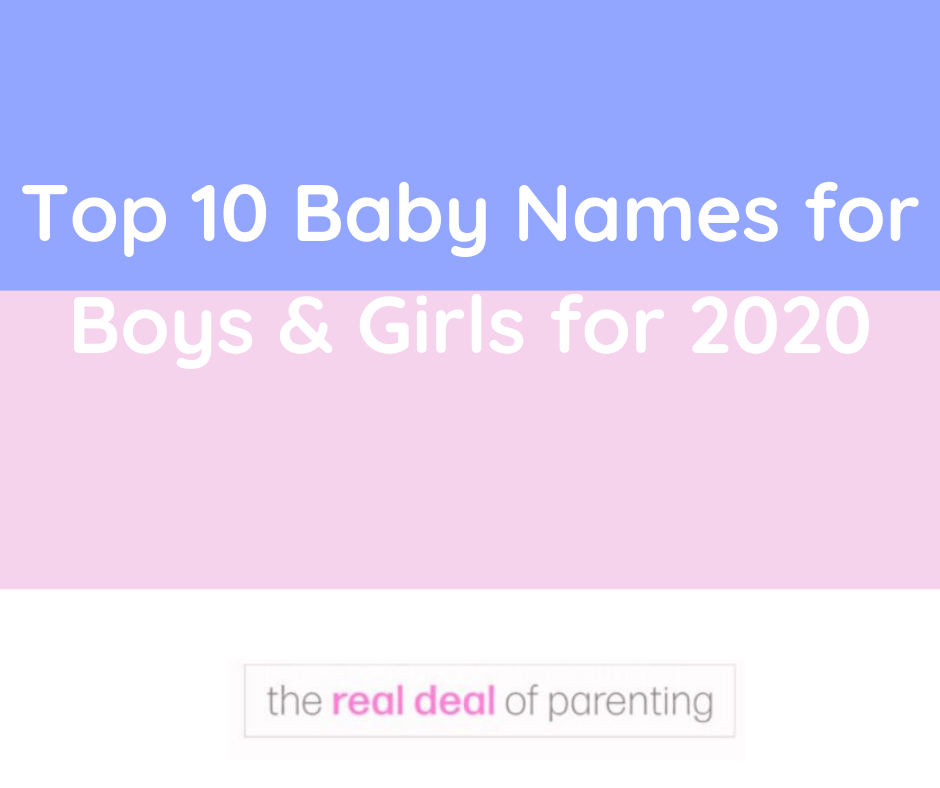 These are the most popular baby names for 2020