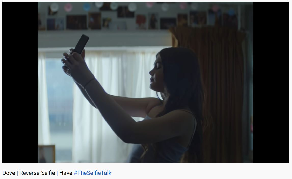 "Dove's ""Reverse Selfie"" Takes Aim at Destructive Social Media"