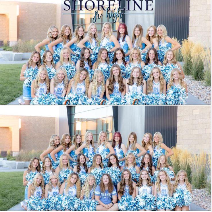 Utah high school cuts girl with Down syndrome from cheer squad yearbook photo