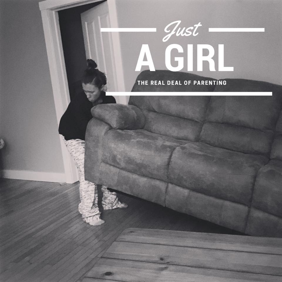 The day I showed my daughter that being 'just a girl' is still pretty powerful