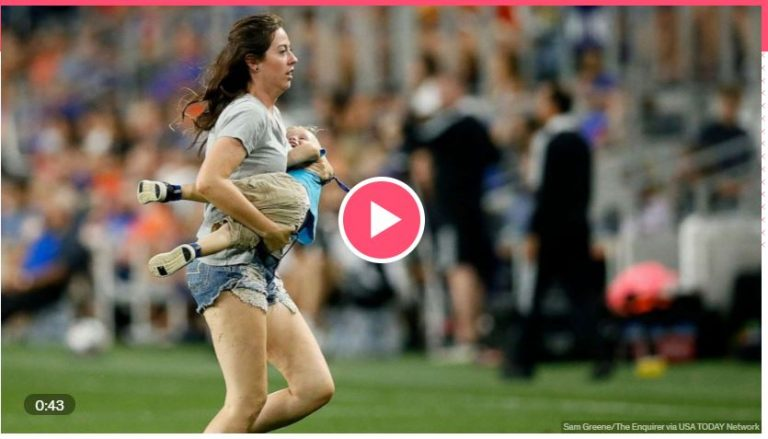 Read more about the article Mom Chases Kid Onto Major League Soccer Field During Game